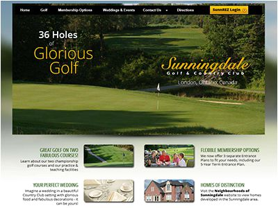 Screenshot Sunningdale Golf Club